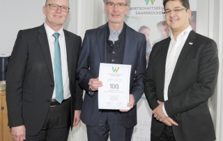 Wirtschaftsregion Saarbrücken,100. Mitglied